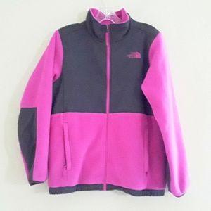 The North Face Fleece and Nylon Full Zip Jacket